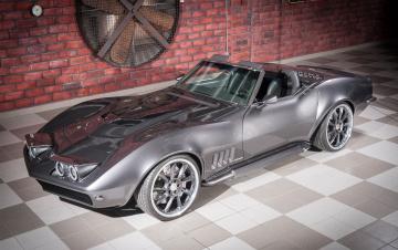 обоя автомобили, corvette