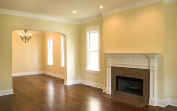 Картинка интерьер камины стиль комната квартира пустая дизайн камин