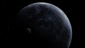 Картинка космос арт вселенная звезды планеты галактика