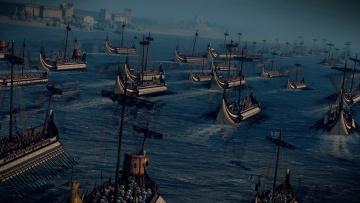 Картинка видео+игры total+war +rome+ii корабли