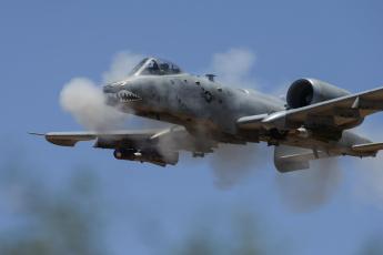 обоя a-10 thunderbolt ii, авиация, боевые самолёты, штурмовик