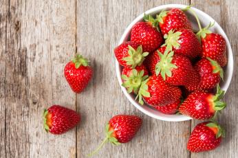 обоя еда, клубника,  земляника, миска, ягода
