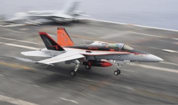 обоя mcdonnell fa-18c hornet, авиация, боевые самолёты, истребитель