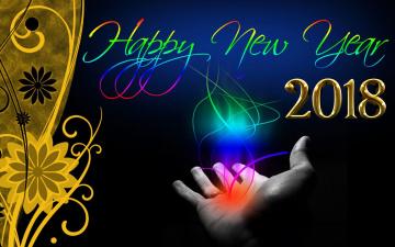 обоя праздничные, - разное , новый год, цифры, фон, праздник