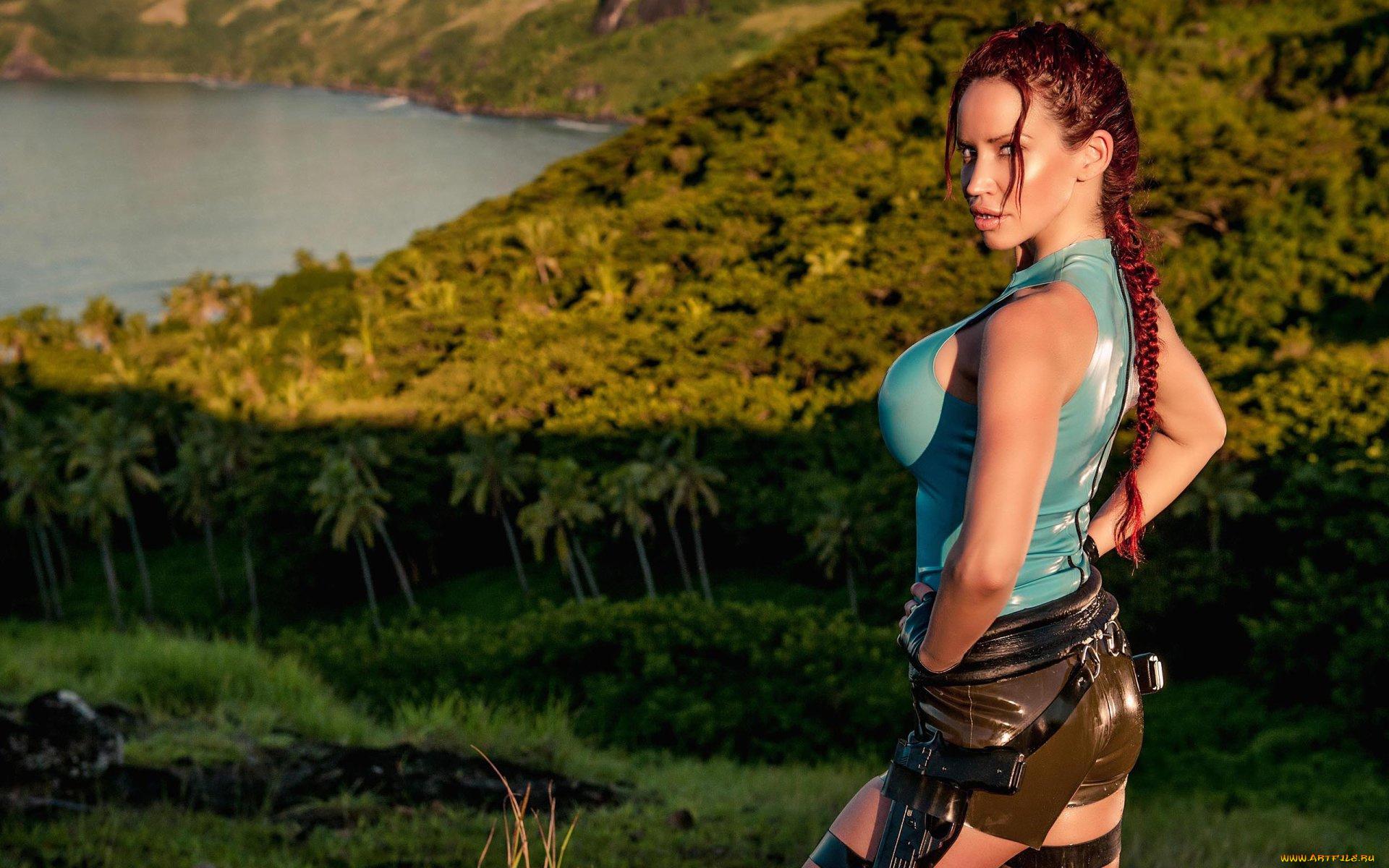 Lara croft as a slave xxx clip