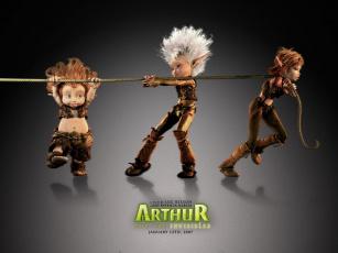 Картинка мультфильмы arthur and the minimoys
