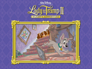 Картинка мультфильмы lady and the tramp ii scamp`s adventure