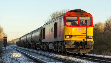Картинка техника поезда локомотив состав дорога железная