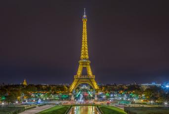 обоя города, париж , франция, башня
