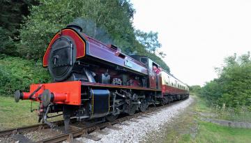 обоя техника, паровозы, локомотив, состав
