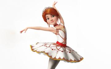 обоя мультфильмы, ballerina, felicie, milliner