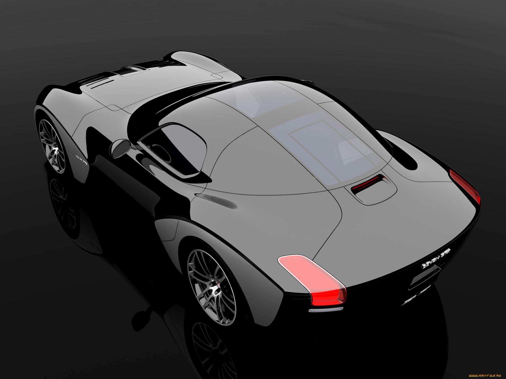 Concept Car black  № 1175531 без смс
