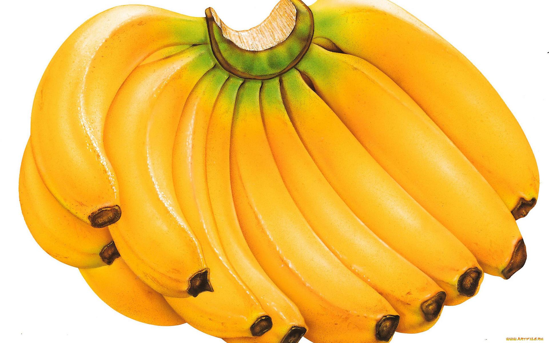 Картинка с бананом, днем