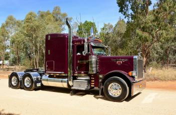 Картинка peterbilt автомобили грузовик тяжелый тягач седельный