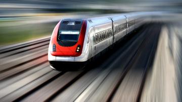 Картинка техника поезда скорость поезд