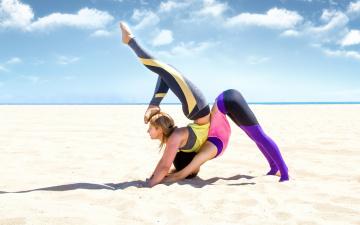 обоя спорт, - другое, фон, фитнес, взгляд, девушки