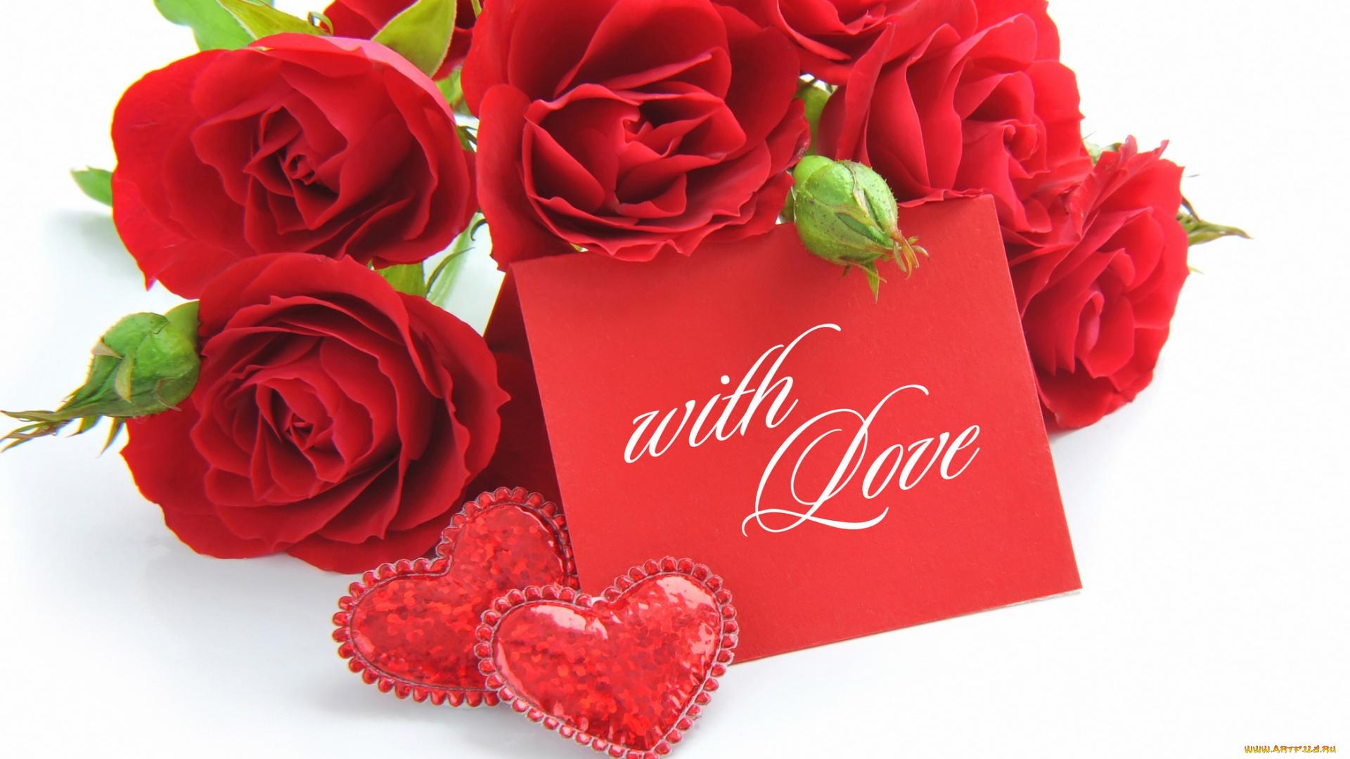 Картинки красивые розы с надписями (35 фото) Прикольные картинки и юмор 32