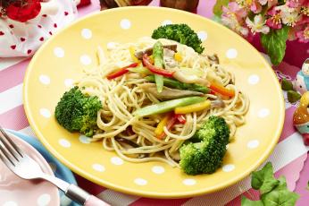 Картинка еда макаронные+блюда спагетти