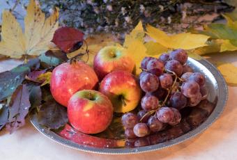обоя еда, фрукты,  ягоды, блюдо