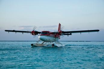 обоя авиация, самолёты амфибии, самолет, dhc-6, твин, оттер, на, воде