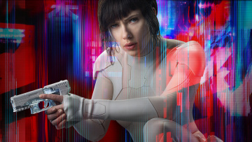 обоя кино фильмы, ghost in the shell, ghost, in, the, shell