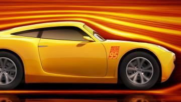 обоя мультфильмы, cars 3, фон, автомобиль