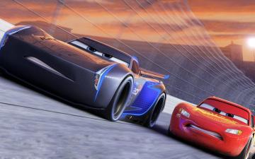 обоя мультфильмы, cars 3, автомобиль, фон