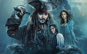 обоя кино фильмы, pirates of the caribbean,  dead men tell no tales, pirates, of, the, caribbean, dead, men, tell, no, tales