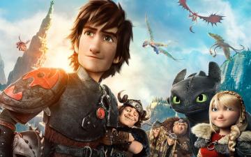 Картинка how+to+train+your+dragon+2 мультфильмы как приручить дракона 2