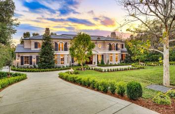 обоя города, - здания,  дома, вилла, дом, дизайн, двор, особняк, деревья