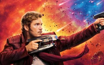 обоя кино фильмы, guardians of the galaxy vol,  2, star, lord, guardians, of, the, galaxy, chris, pratt