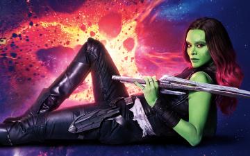 обоя кино фильмы, guardians of the galaxy vol,  2, gamora, guardians, of, the, galaxy