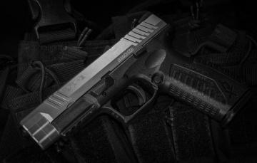 обоя xdm 9, оружие, пистолеты, ствол