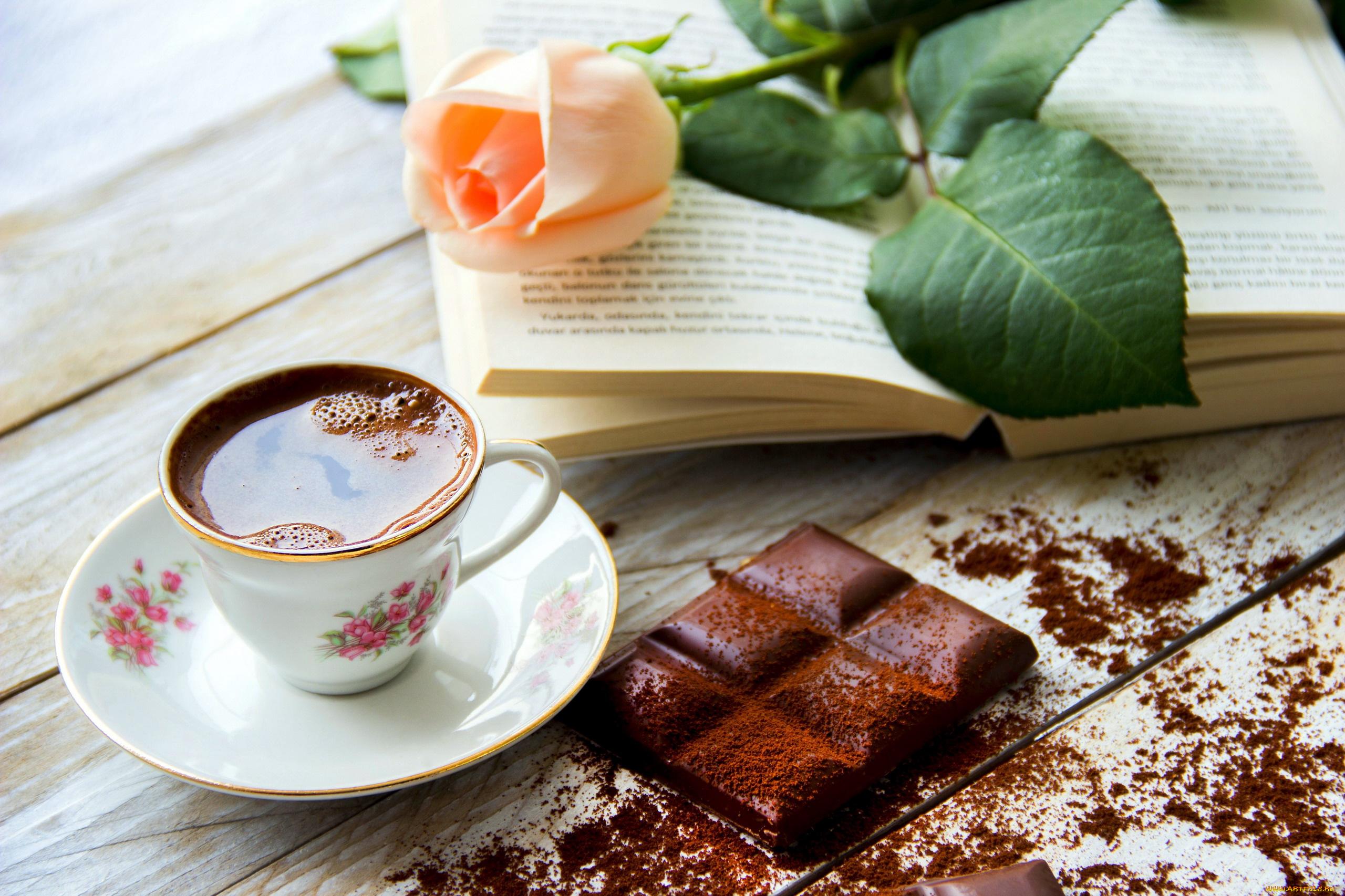 Картинки кофе шоколад цветы, красивые природы