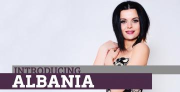 Картинка музыка евровидение брюнетка албания певица улыбка hersi
