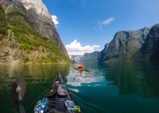 обоя корабли, лодки,  шлюпки, фьорд, норвегия, горы, отдых