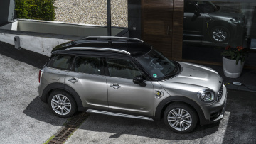 обоя mini cooper s-e countryman all4 plug in hybrid 2018, автомобили, mini, cooper, plug, all4, countryman, s-e, hybrid, 2018