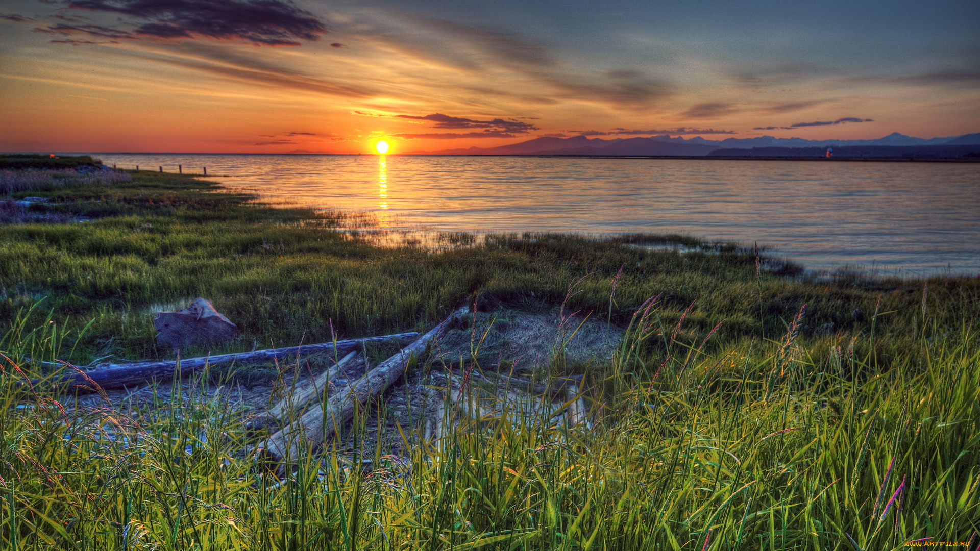 Побережье канады фото восход