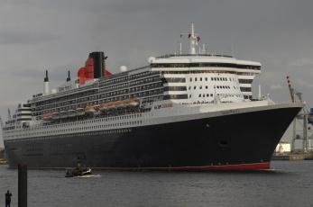 Картинка queen mary корабли лайнеры круиз 2