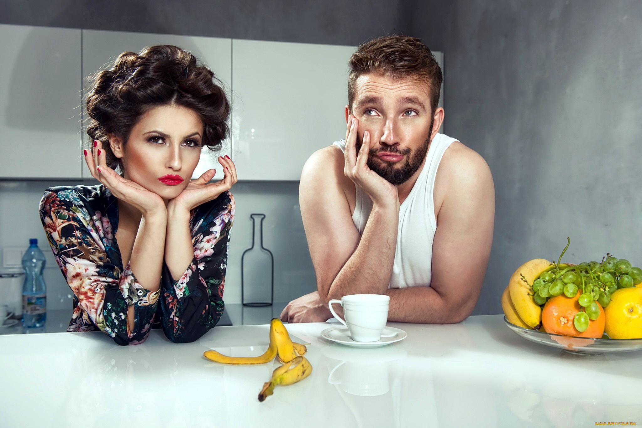этих строк фото мужчины и женщины на кухне зрелую