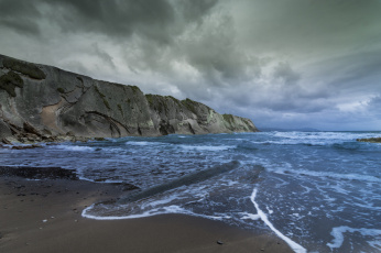 обоя природа, побережье, берег, море