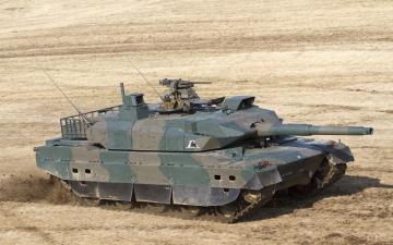 обоя танки, техника, военная техника, type10, боевой, танк, Япония, основной