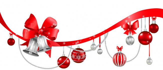 Обои картинки фото праздничные, векторная графика , новый год, колокольчики, шары, фон