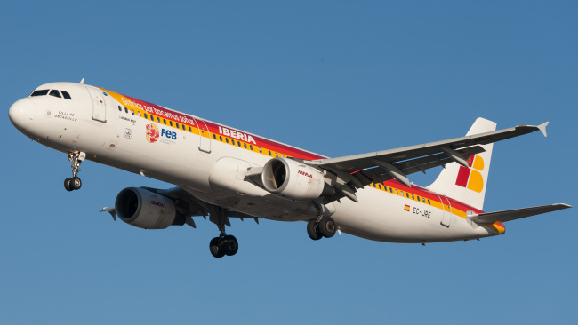 Обои картинки фото airbus 321 ec, авиация, пассажирские самолёты, авиалайнер