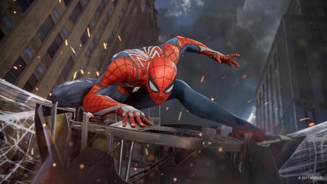 Обои картинки фото рисованное, комиксы, spiderman