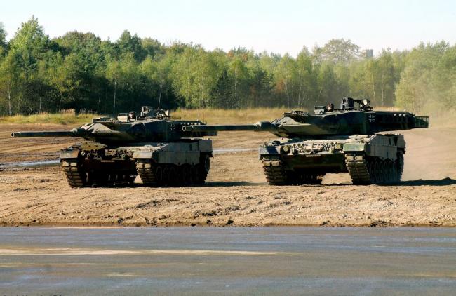 Обои картинки фото танки, техника, военная техника, германия, боевой, танк, основной, leopard, 2a6