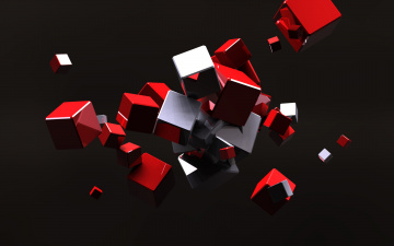 графика абстракция 3D куб graphics abstraction cube без смс