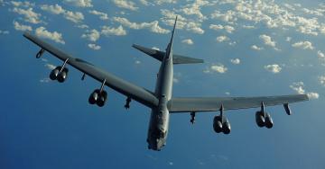 Картинка 52 stratofortress авиация боевые самолёты ввс межконтинентальный стратегический бомбардировщик-ракетоносец сверхдальний тяжёлый сша