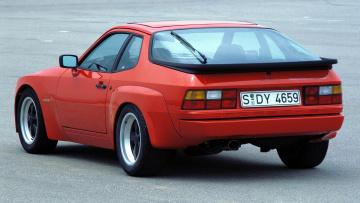 Картинка porsche 924 автомобили элитные спортивные германия