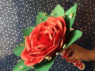 обоя разное, ремесла,  поделки,  рукоделие, бутон, цветение, лепестки, розовая, роза
